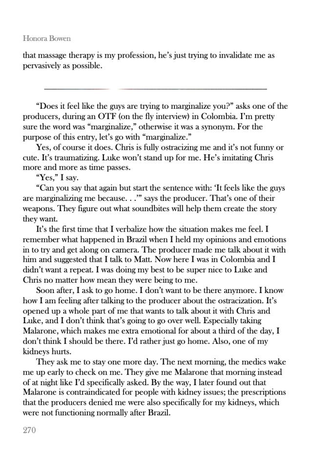 Honora Bowen Memoir Sneak Peek pp 270