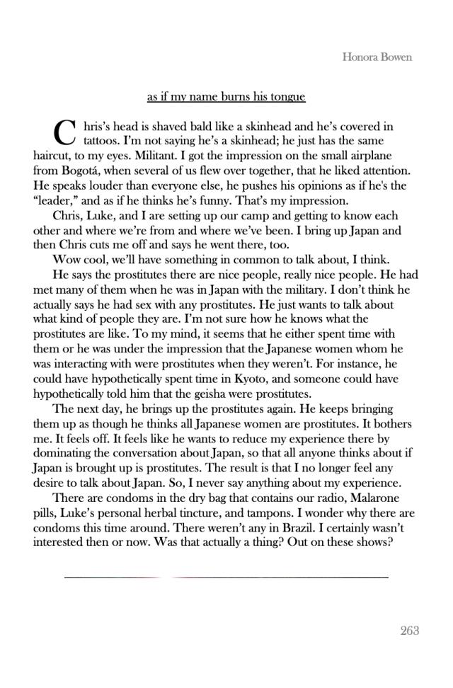 Honora Bowen Memoir Sneak Peek pp 263